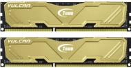 DDR3 2x8 Гб 1600 МГц Team Xtreem Vulcan Yellow (TLYED316G1600HC9DC01)