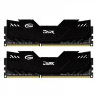 DDR3 2x2 Гб 1600 МГц Team Dark Series Black (TDKED34G1600HC9DC01)