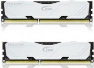 DDR3 2x4 �� 1866 ��� Team Vulcan White (TLWED38G1866HC11DC01)