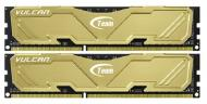 DDR3 2x4 �� 1866 ��� Team Vulcan Yellow (TLYED38G1866HC11DC01)