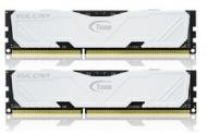 DDR3 2x4 Гб 2400 МГц Team Vulcan White (TLWED38G2400HC11CDC01)