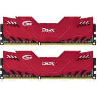 DDR3 2x8 �� 1600 ��� Team Dark Series Red (TDRED316G1600HC9DC01)