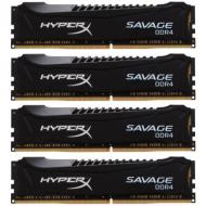 DDR4 4x4 �� 2666 ��� Kingston HyperX Savage Black (HX426C13SBK4/16)