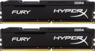 DDR4 2x8 ГБ 2400 МГц Kingston HyperX Fury Black (HX424C15FBK2/16)