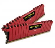 DDR4 4 �� 2400 ��� Corsair Vengeance LPX Red (CMK4GX4M1A2400C14R)