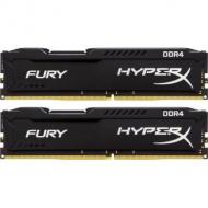 DDR4 2x4 ГБ 2400 МГц Kingston Fury Black (HX424C15FBK2/8)