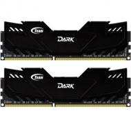DDR4 2x8 ГБ 2666 МГц Team Dark Black (TDKED416G2666HC15ADC01)