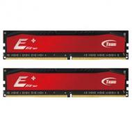 DDR4 2x4 ГБ 2400 МГц Team Elite Plus Red (TPRD48G2400HC16DC01)