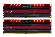 DDR4 2x8 ГБ 2400 МГц Team Delta Red LED (TDTRD416G2400HC15ADC01)