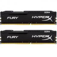 DDR4 2x16 ГБ 2400 МГц Kingston HyperX Fury Black (HX424C15FBK2/32)