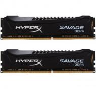 DDR4 2x4 ГБ 2666 МГц Kingston Savage Blak (HX426C13SB2K2/8)