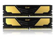 DDR4 2x16 ГБ 2400 МГц Team Elite Plus Gold/Black (TPD432G2400HC16DC01)