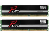 DDR4 2x8 ГБ 2400 МГц Goodram Play Black (GY2400D464L15S/16GDC)