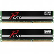 DDR4 2x8 ГБ 2133 МГц Goodram PLAY Black (GY2133D464L15S/16GDC)