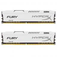 DDR4 2x8 ГБ 2400 МГц Kingston HyperX Fury White (HX424C15FW2K2/16)