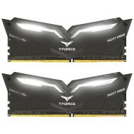 Оперативная память DDR4 2x8 ГБ 3000 МГц Team T-Force Night Hawk White LED (THWD416G3000HC16CDC01)