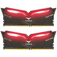 Оперативная память DDR4 2x8 ГБ 3000 МГц Team T-Force Night Hawk Red LED (THRD416G3000HC16CDC01)