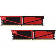 DDR4 2x4 ГБ 2666 МГц Team T-Force Vulcan Red (TLRED48G2666HC15BDC01)