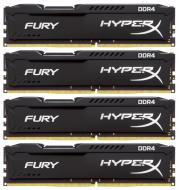 DDR4 4x4 ГБ 2666 МГц Kingston HyperX Fury Black (HX426C15FBK4/16)