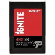 SSD накопитель 480 Гб Patriot Ignite (PI480GS25SSDR)