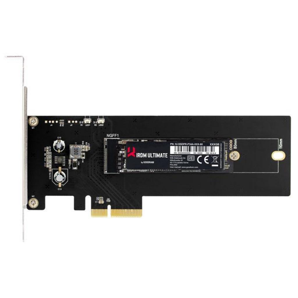 SSD накопитель 480 Гб Goodram IRDM Ulttimate (IRU-SSDPR-P34A-480-80A)