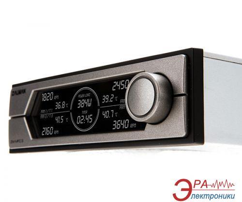 Регулятор оборотов кулера Zalman Multy Fan Speed Controller ZM-MFC3