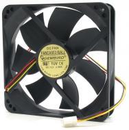 Вентилятор для корпуса Gembird 120х120x25mm 4pin