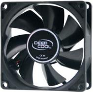 Вентилятор для корпуса DeepCool (80x80x25mm/1800 rpm/20 dBA)