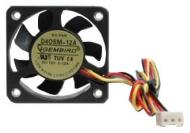 Вентилятор для корпуса Gembird D40SM-12A (40x40x10mm/2500 rpm/25 dBA/SB/3pin) 7 см