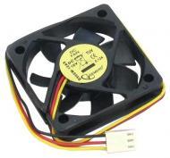 Вентилятор для корпуса Gembird D50SM-12AS (50x50x10mm/2500 rpm/25 dBA/SB/3pin)