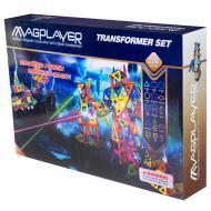 Конструктор MagPlayer магнитный набор 208 эл. (MPB-208)