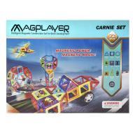 Конструктор MagPlayer магнитный набор 72 эл. (MPB-72)