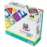 Конструктор Playmags магнитный набор 24 эл. (PM162)