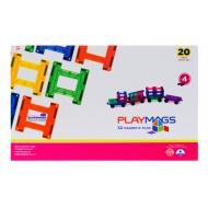 Конструктор Playmags магнитный набор 20 эл. (PM155)