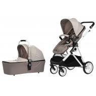 Детская коляска универсальная 2в1 Miqilong Mi baby T900 Beige (T900-U2BG01)