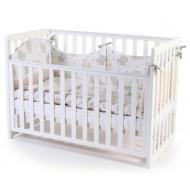 Детская кроватка Верес Соня ЛД-13 (съемная спица) (13.1.1.20.06) белый