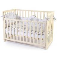 Детская кроватка Верес Соня ЛД-13 (съемная спица) (13.1.1.20.04) слоновая кость