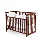 Детская кроватка Верес Соня ЛД-13 (съемная спица) (13.1.1.20.03) орех