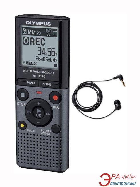 Цифровой диктофон Olympus VN-711PC + TP-8 (V405141TE030)