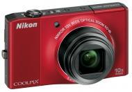 Цифровой фотоаппарат Nikon COOLPIX S8000 Red (VMA512E1)
