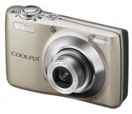 Цифровой фотоаппарат Nikon COOLPIX L22 Silver (VMA570E6)