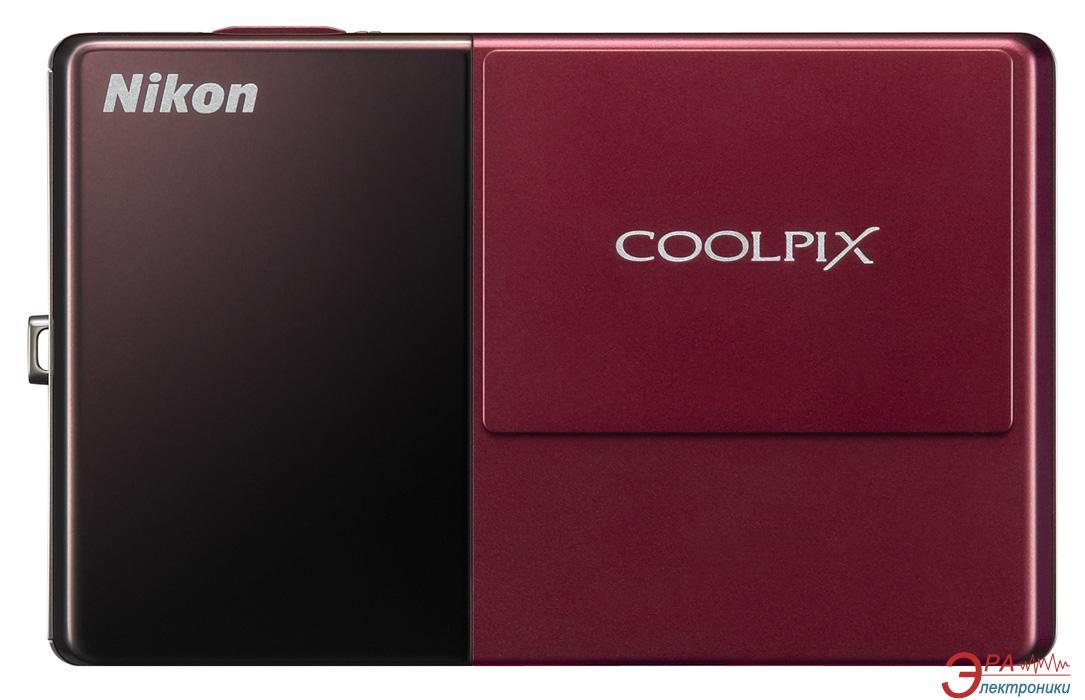 Цифровой фотоаппарат Nikon COOLPIX S70 Red