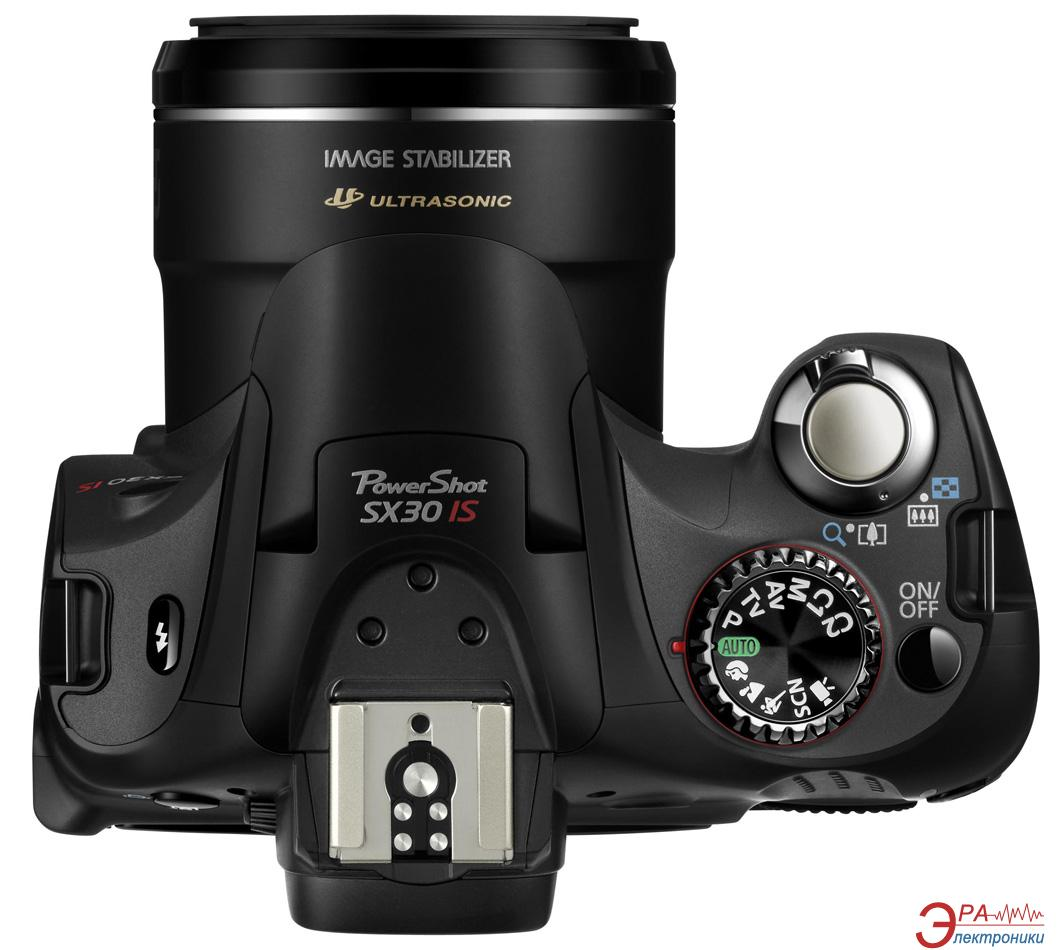 Цифровой фотоаппарат canon powershot sx30 is black