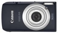 Цифровой фотоаппарат Canon DIGITAL IXUS 210 IS Black (4197B019)
