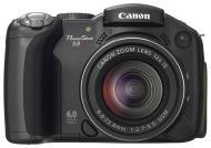 Цифровой фотоаппарат Canon PowerShot S3 IS Black (1101B002)