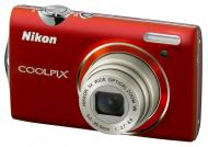 Цифровой фотоаппарат Nikon COOLPIX S5100 Red (VMA642E1)