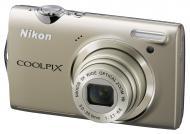 Цифровой фотоаппарат Nikon COOLPIX S5100 Silver (VMA640E1)