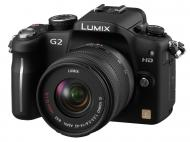 Цифровой фотоаппарат Panasonic LUMIX DMC-G2 14-42mm Kit Black (DMC-G2KGC-K)
