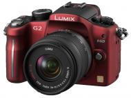 Цифровой фотоаппарат Panasonic LUMIX DMC-G2 14-42mm Kit Red (DMC-G2KGC-R)