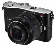 Цифровой фотоаппарат Samsung NX100 + объектив 20-50mm Black (EV-NX100ZBABUA)